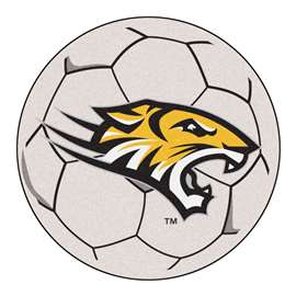 Towson University  Soccer Ball Mat, Rug , Carpet