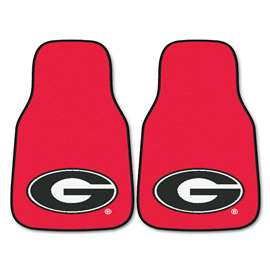 University of Georgia 2-pc Carpet Car Mat Set Front Car Mats