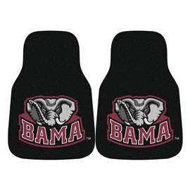 University of Alabama  2-pc Carpet Car Mat Set