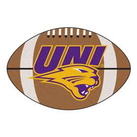 University of Northern Iowa  Football Mat Mat Rug Carpet