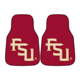 Florida State University  2-pc Carpet Car Mat Set