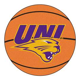 University of Northern Iowa  Basketball Mat Rug Carpet Mats