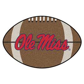 University of Mississippi (Ole Miss)  Football Mat Mat Rug Carpet