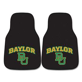 Baylor University  2-pc Carpet Car Mat Set