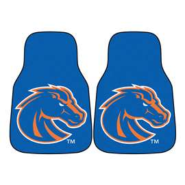 Boise State University  2-pc Carpet Car Mat Set