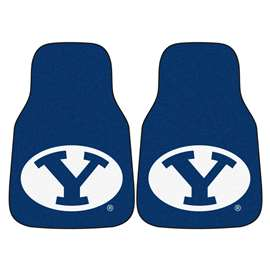 Brigham Young University  2-pc Carpet Car Mat Set