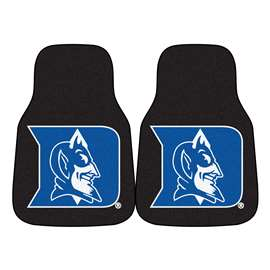 Duke University 2-pc Carpet Car Mat Set Front Car Mats