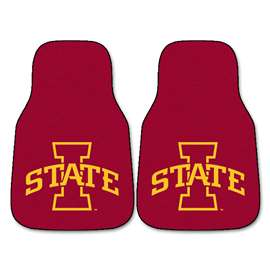 Iowa State University  2-pc Carpet Car Mat Set