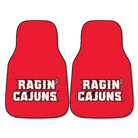 Louisiana-Lafayette  2-pc Carpet Car Mat Set