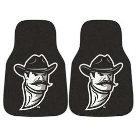 New Mexico State University  2-pc Carpet Car Mat Set