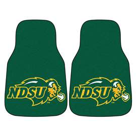 North Dakota State University  2-pc Carpet Car Mat Set