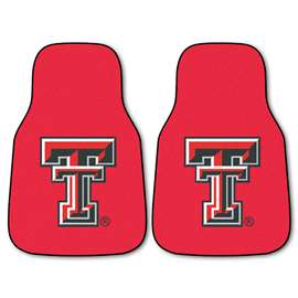Texas Tech University 2-pc Carpet Car Mat Set Front Car Mats