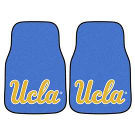 University of California - Los Angeles (UCLA) 2-pc Carpet Car Mat Set Front Car Mats