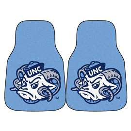 University of North Carolina - Chapel Hill 2-pc Carpet Car Mat Set Front Car Mats