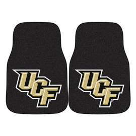 University of Central Florida 2-pc Carpet Car Mat Set Front Car Mats