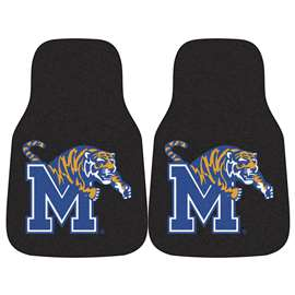 University of Memphis 2-pc Carpet Car Mat Set Front Car Mats