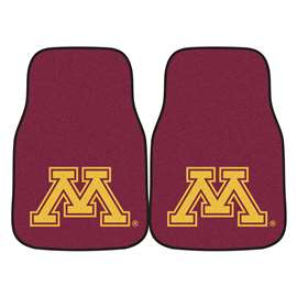 University of Minnesota 2-pc Carpet Car Mat Set Front Car Mats