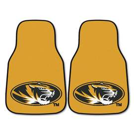 University of Missouri  2-pc Carpet Car Mat Set