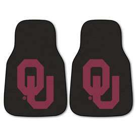 University of Oklahoma  2-pc Carpet Car Mat Set