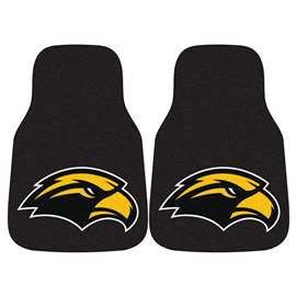 University of Southern Mississippi 2-pc Carpet Car Mat Set Front Car Mats