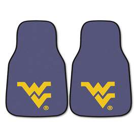 West Virginia University 2-pc Carpet Car Mat Set Front Car Mats