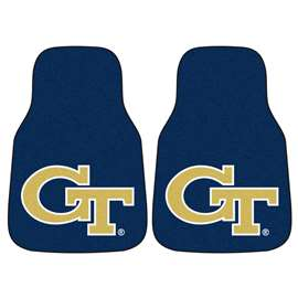 Georgia Tech  2-pc Carpet Car Mat Set
