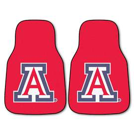 University of Arizona 2-pc Carpet Car Mat Set Front Car Mats