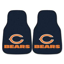 NFL - Chicago Bears 2-pc Carpet Car Mat Set Front Car Mats