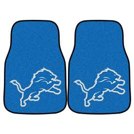 NFL - Detroit Lions 2-pc Carpet Car Mat Set Front Car Mats
