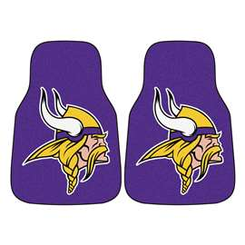 NFL - Minnesota Vikings 2-pc Carpet Car Mat Set Front Car Mats