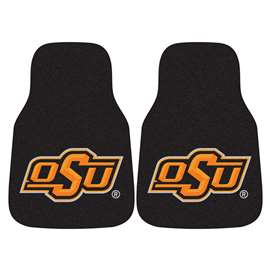 Oklahoma State University  2-pc Carpet Car Mat Set