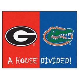 House Divided: Georgia / Florida  House Divided Mat Rug, Carpet, Mats