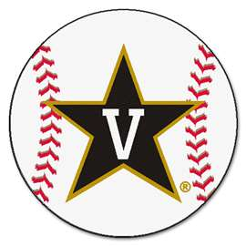Vanderbilt University Baseball Mat Ball Mats