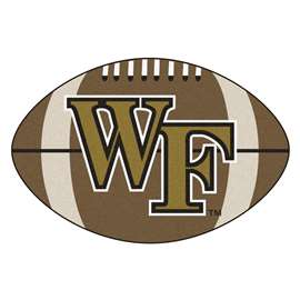 Wake Forest University Football Mat Ball Mats