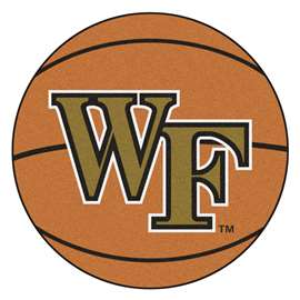 Wake Forest University Basketball Mat Ball Mats