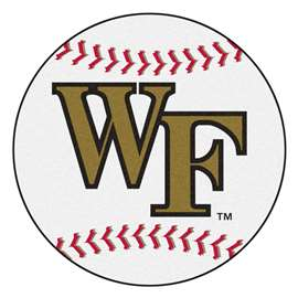 Wake Forest University  Baseball Mat Rug Carpet Mats
