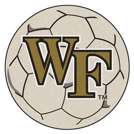Wake Forest University  Soccer Ball Mat, Rug , Carpet