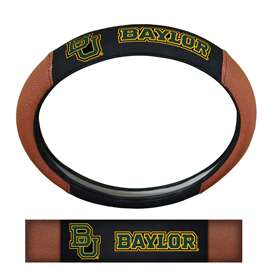 Baylor University Sports Grip Steering Wheel Cover Primary Logo and