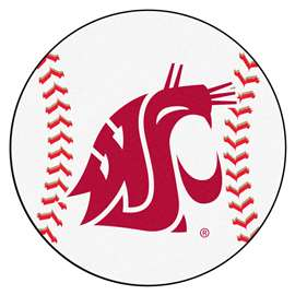 Washington State University  Baseball Mat Rug Carpet Mats