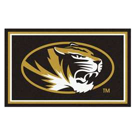 University of Missouri  4x6 Rug Rug Carpet Mats