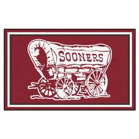 University of Oklahoma  4x6 Rug Rug Carpet Mats