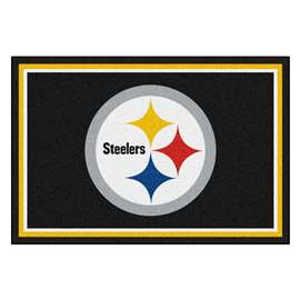 NFL - Pittsburgh Steelers 5x8 Rug Plush Rugs