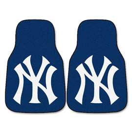 MLB - New York Yankees 2-pc Carpet Car Mat Set Front Car Mats