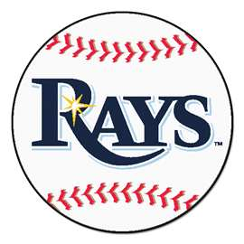 MLB - Tampa Bay Rays Baseball Mat Ball Mats