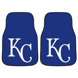 MLB - Kansas City Royals 2-pc Carpet Car Mat Set Front Car Mats