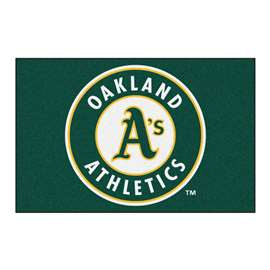 MLB - Oakland Athletics Starter Mat Rectangular Mats