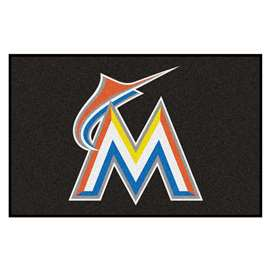 MLB - Miami Marlins Starter Mat Rectangular Mats