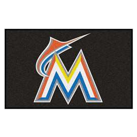 MLB - Miami Marlins Ulti-Mat Rectangular Mats