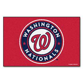 "MLB - Washington Nationals Starter Rug 19""x30""  Starter Mat"