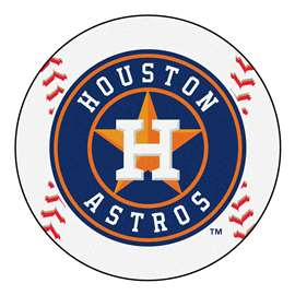"MLB - Houston Astros Baseball Mat 27"" diameter   Baseball Mat"